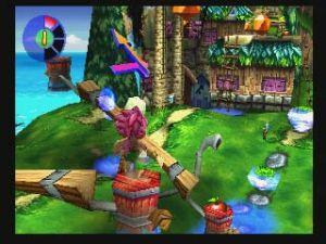 Scenario tridimensionale in Tombi! 2