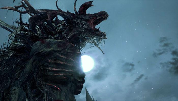 Uno dei boss di Bloodborne.