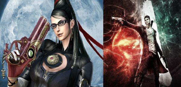 crossover tra devil may cry e bayonetta