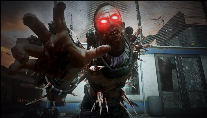 Mini-boss all'interno di Exo Zombies