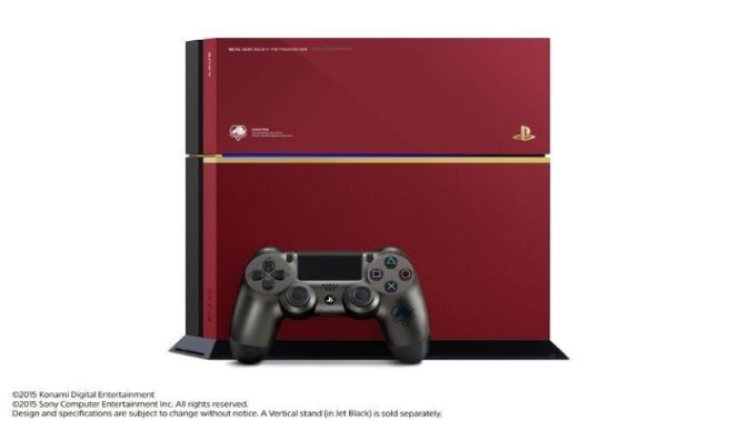 Annunciata una Playstation 4 per celebrare Metal Gear Solid V : The Phantom Pain