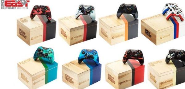 Microsoft, in occasione della Pax East, annuncia dei modelli di controller ed una Xbox One completamente customizzati, sui temi dei suoi giochi più famosi.