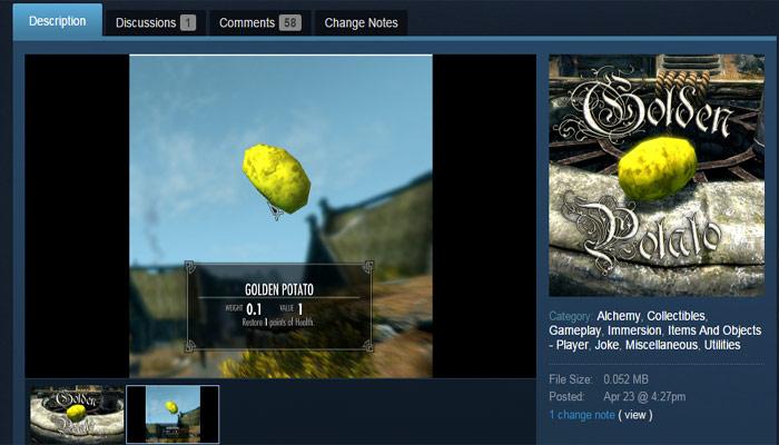 Le più stupide mods di Skyrim su Steam