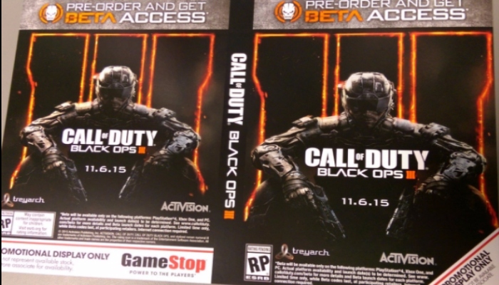 Call of Duty:Black ops 3 promo