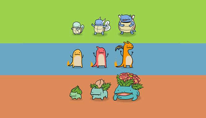 pokemon iniziale, charmender, bulbasaur o squirtle