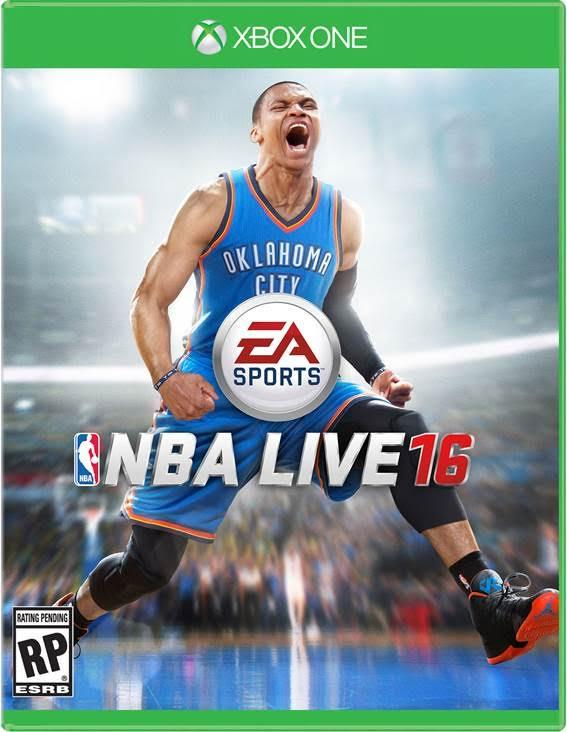 Russell Westbrook sulla cover di NBA Live 16