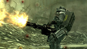 Storia di fallout -  potenza di fuoco, c'è anche questo in Fallout
