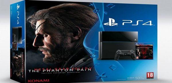 La PS4 di Metal Gear Solid 5 arriva in Italia