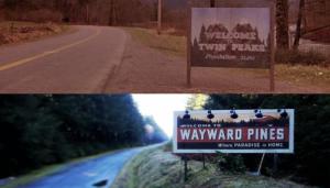 Wayward Pines & Twin Peaks
