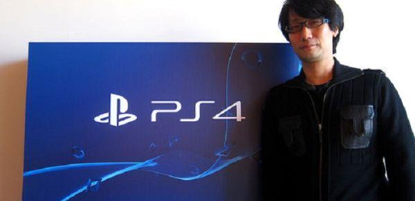 kojima e sony si uniscono per creare un'esclusiva PS4