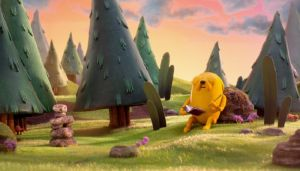 adventure time in stop motion