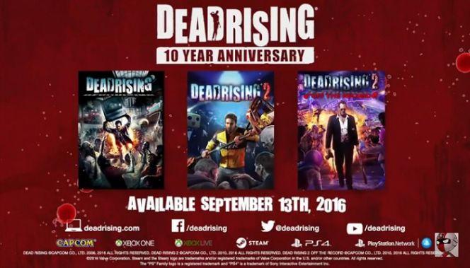 data di uscita della dead rising collection