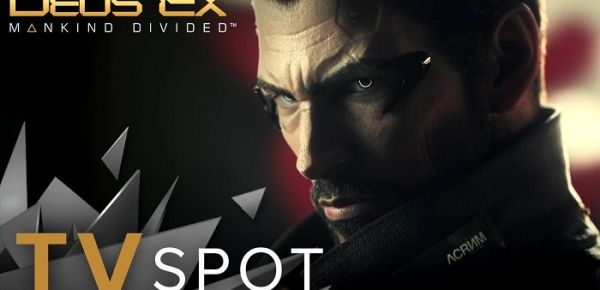 spot tv dedicato a deus ex mankind divided