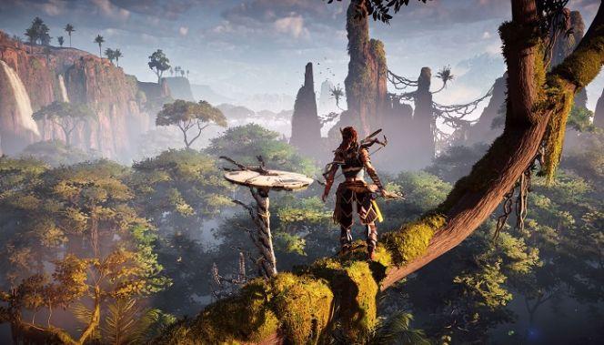 Horizon Zero Dawn mostrato su PS4 Pro